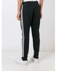 Adidas Originals - Black 'adc' Track Pants for Men - Lyst