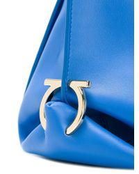 Ferragamo | Blue 'sofia' Tote | Lyst