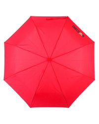 Moschino - Red Toy Bear Handle Umbrella - Lyst