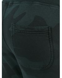 Hydrogen - Black Camouflage Track Pants for Men - Lyst