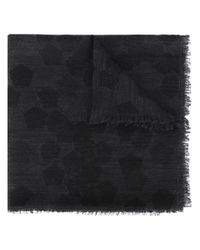 Z Zegna | Gray Frayed Edge Scarf for Men | Lyst
