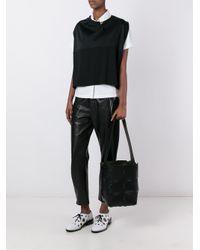 Paco Rabanne - Black Bucket Leather Shoulder Bag - Lyst