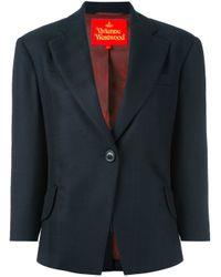 Vivienne Westwood Red Label - Blue One Button Blazer - Lyst