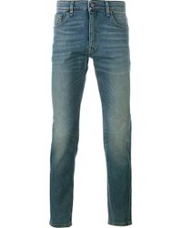 Fendi | Blue Slim Fit Jeans for Men | Lyst