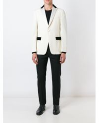 Z Zegna - Natural Tuxedo Blazer for Men - Lyst