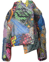 Vivienne Westwood | Multicolor Abstract Print Oversized Coat | Lyst
