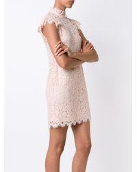 Rachel Zoe - Blue Lace Shift Dress - Lyst