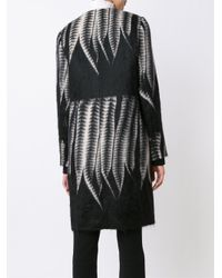Yigal Azrouël - Black Tailored Fern Coat - Lyst