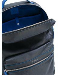 Furla | Black 'fenice' Backpack for Men | Lyst