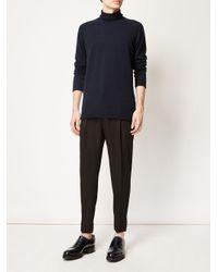 Lanvin - Black Classic Trousers for Men - Lyst