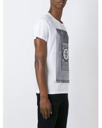 Les Benjamins - White Carpet Print T-shirt for Men - Lyst