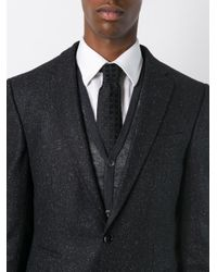 Canali | Black Polka Dot Tie for Men | Lyst