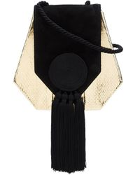 Saint Laurent | Multicolor Tassel Evening Crossbody Bag | Lyst