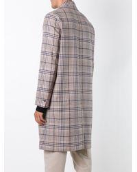 AMI - Multicolor Half-lined Coat for Men - Lyst
