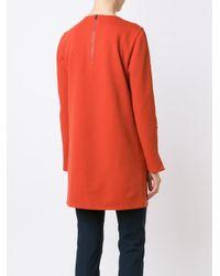 Tibi - Multicolor - Buttons Detailing Longsleeved Blouse - Women - Polyester/spandex/elastane - 4 - Lyst