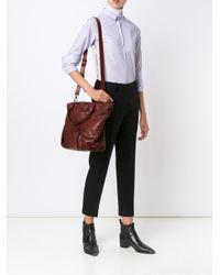 Numero 10 - Red Michigan Leather Bag - Lyst