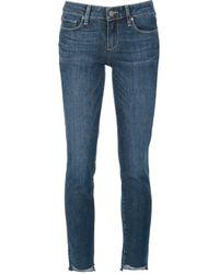 PAIGE | Blue Jimmy Jimmy Skinny Jeans | Lyst