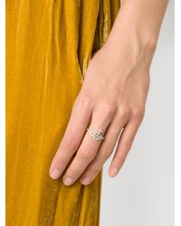 Vivienne Westwood - Gray 'calliope' Ring - Lyst