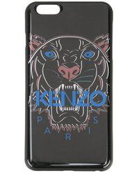 KENZO | Black 'tiger' Iphone 6 Plus Case for Men | Lyst