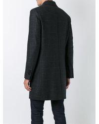Aspesi - Gray Padded Button Coat for Men - Lyst
