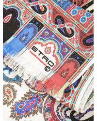 Etro - Multicolor Printed Scarf - Lyst