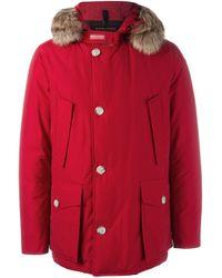 Woolrich | Blue 'parka Df Arctic Anorak' Coat for Men | Lyst