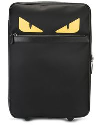 Fendi | Black 'bag Bugs' Trolley | Lyst