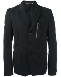 Diesel Black Gold | Blue - 'jitiry' Blazer - Men - Cotton/polyester/viscose/wool - 48 for Men | Lyst