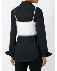 Alexander Wang | White Girls Cropped Tank Top | Lyst