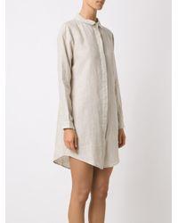 Osklen - Natural Shirt Dress - Lyst