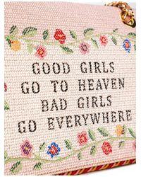 Moschino - Pink 'good Girls Go To Heaven' Shoulder Bag - Lyst