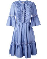 Temperley London - Blue 'morganne' Dress - Lyst