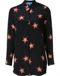 M.i.h Jeans - Black Star Print Shirt - Lyst