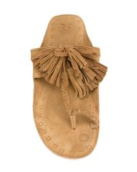Figue - Brown 'scaramouche' Sandals - Lyst
