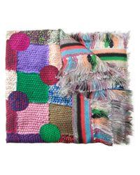 Pierre Louis Mascia | Multicolor 'alopie' Scarf | Lyst