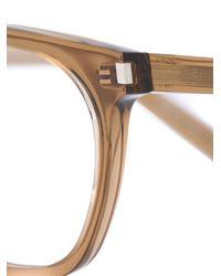 Saint Laurent - Brown 'sl 30' Glasses - Lyst