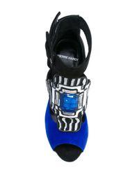 Pierre Hardy - Blue Embellished Sandals - Lyst