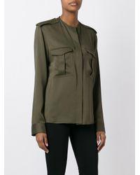 Haider Ackermann - Green Cargo Pocket Shirt - Lyst