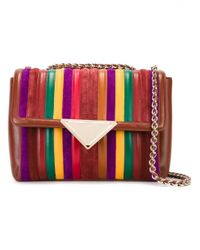 Sara Battaglia | Brown 'elizabeth' Shoulder Bag | Lyst