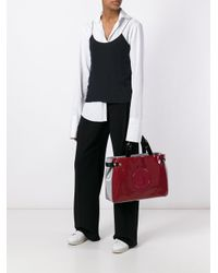 Armani Jeans | Red Medium 'grigi' Tote | Lyst