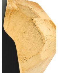 Monies - Black Geometric Shape Earrings - Lyst