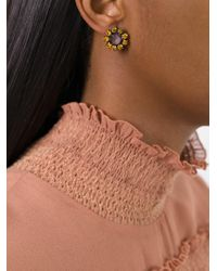 Rada' | Multicolor Radà Stone Embellished Earrings | Lyst