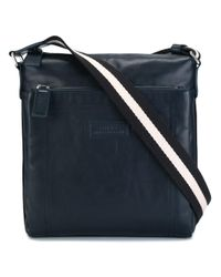 Bally | Blue 'tuston' Messenger Bag for Men | Lyst