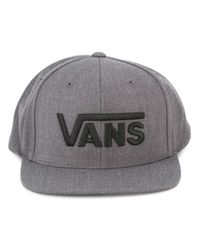 Vans | Gray 'drop V' Cap for Men | Lyst