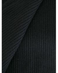 Rag & Bone - Black Knit Scarf for Men - Lyst