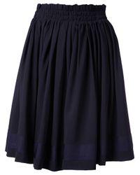 Michel Klein | Black Flared Skirt | Lyst