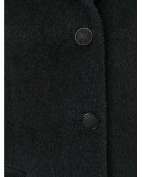 Tagliatore - Black Single Breasted Coat - Lyst