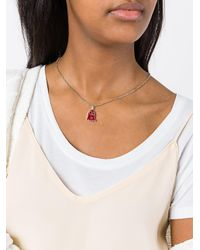 Gucci - Red Ghost Necklace - Lyst