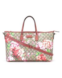 Gucci | Brown - Gg Blooms Supreme Tote Bag - Women - Leather/polyurethane - One Size | Lyst
