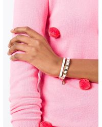 Ferragamo - White Varini Wrap Bracelet - Lyst
